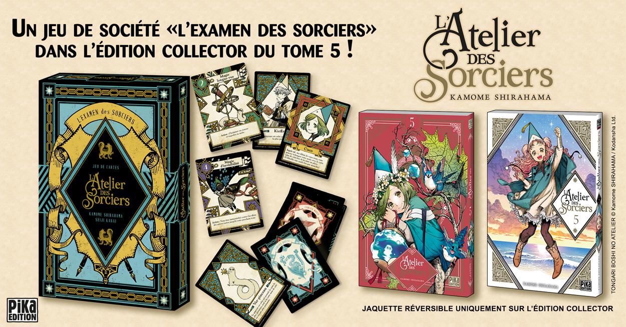 Un jeu de cartes « L'Examen des Sorciers »