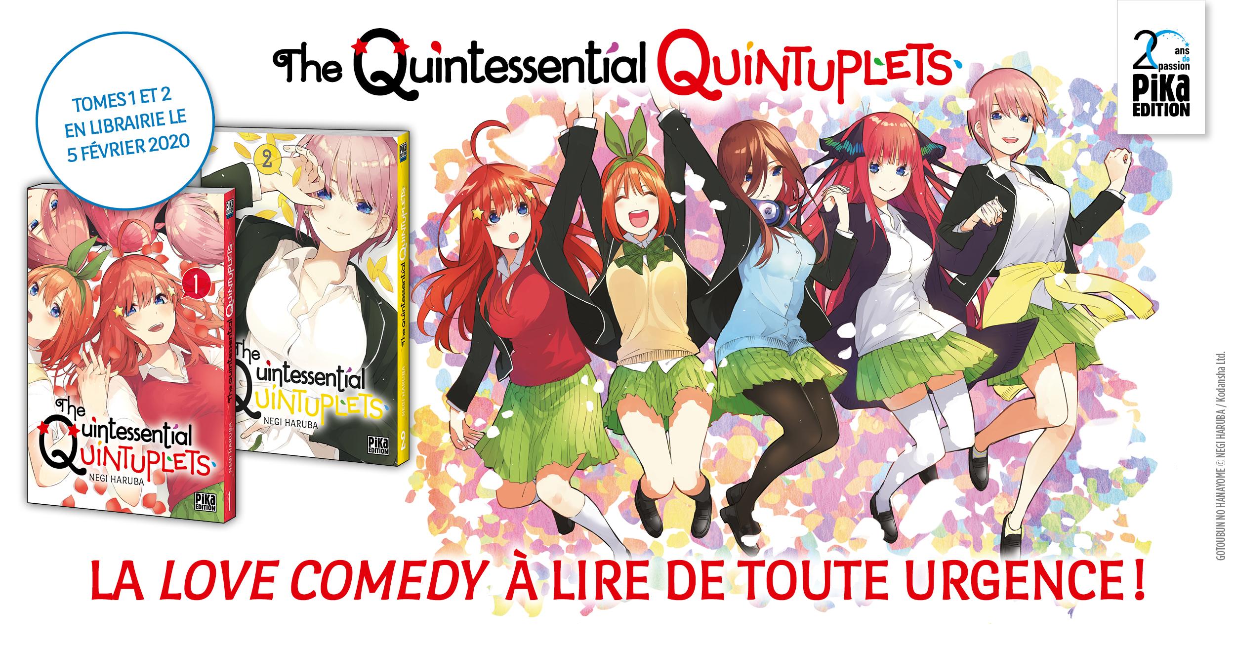 Bannière Annonce The Quintessential Quintuplets