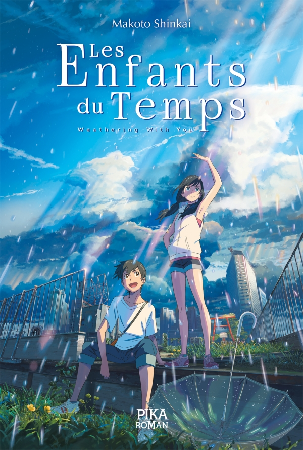 Couverture du roman Les Enfants du temps - Weathering with you