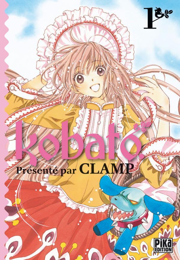 Couverture du tome 1 de Kobato.