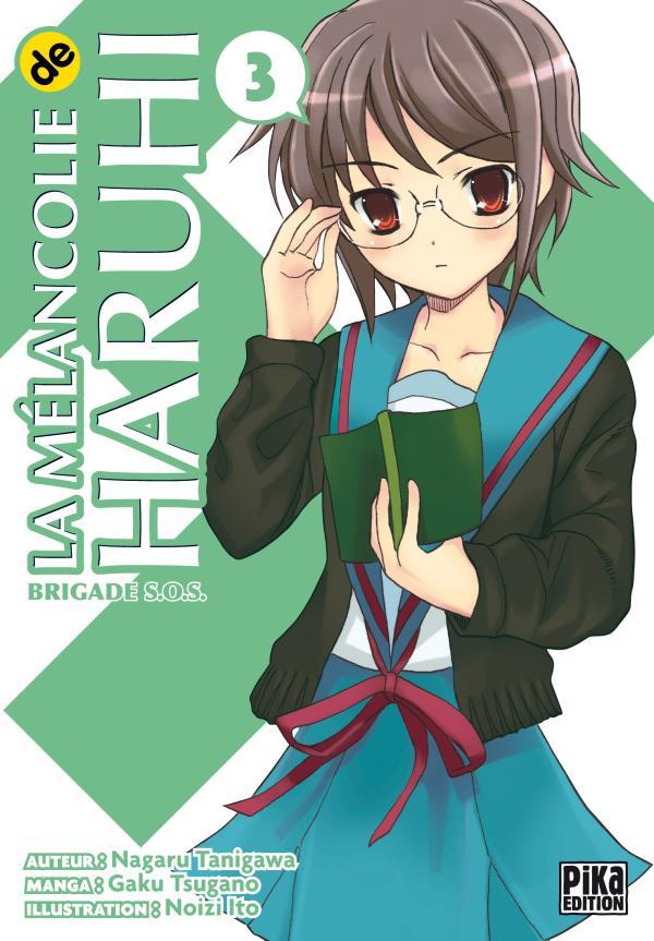La Mélancolie de Haruhi T03