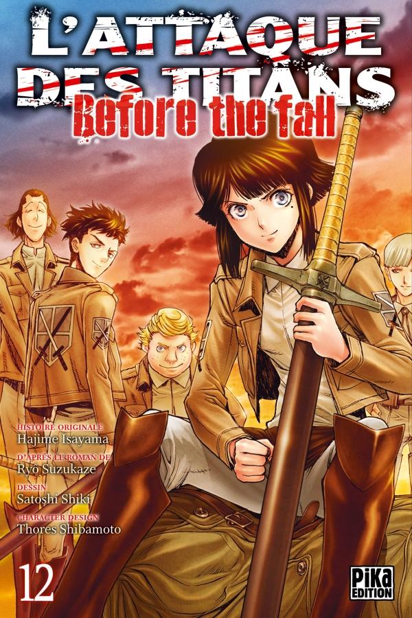 L'Attaque des Titans - Before the Fall T12