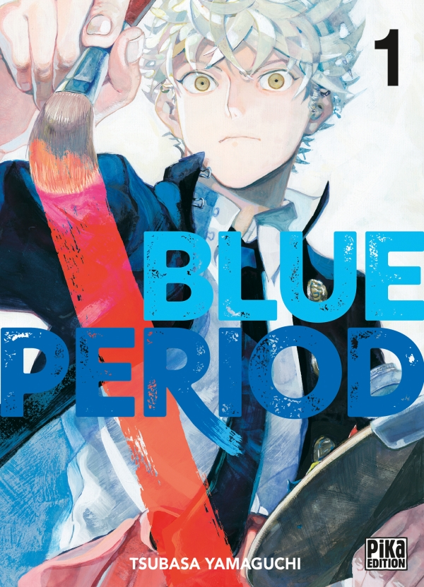 couverture du tome 1 de Blue Period