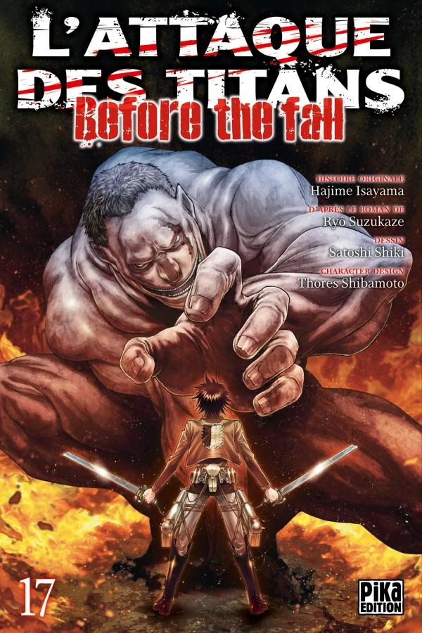 L'Attaque des Titans - Before the Fall T17