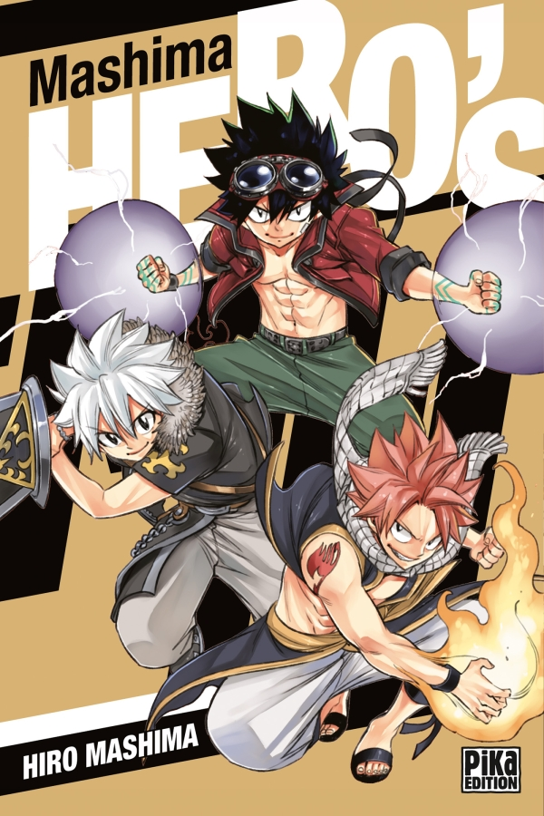 Couverture Mashima HERO'S