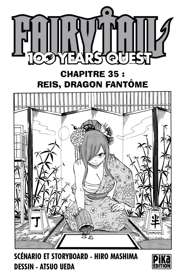 Fairy Tail - 100 Years Quest Chapitre 035