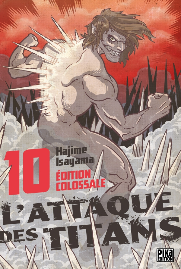 L'Attaque des Titans Edition Colossale T10