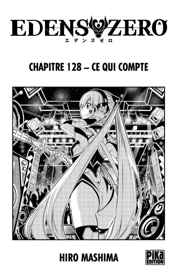 Edens Zero Chapitre 128