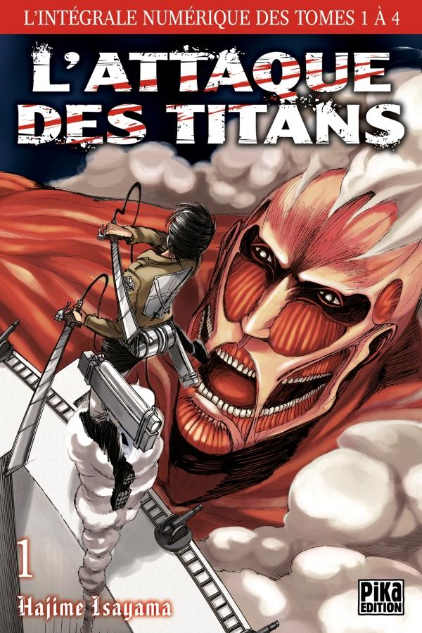 L'Attaque des Titans - L'intégrale T01 à T04