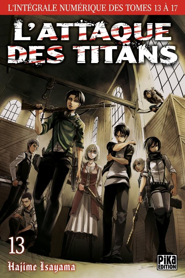 L'Attaque des Titans - L'intégrale T13 à T17