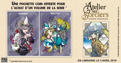 Bannière Annonce Pochette Coin L'Atelier des Sorciers