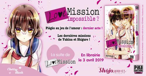 Love Mission Impossible Bannière Annonce