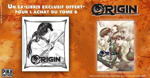 Bannière Annonce Ex-Libris Origin Tome 6