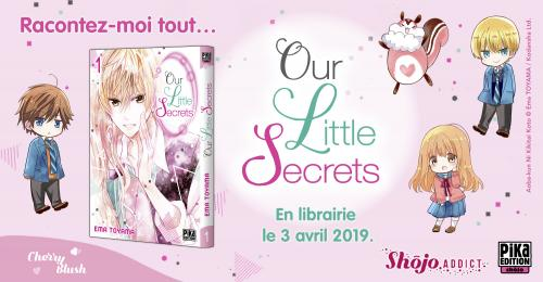 Our Little Secrets Bannière Annonce