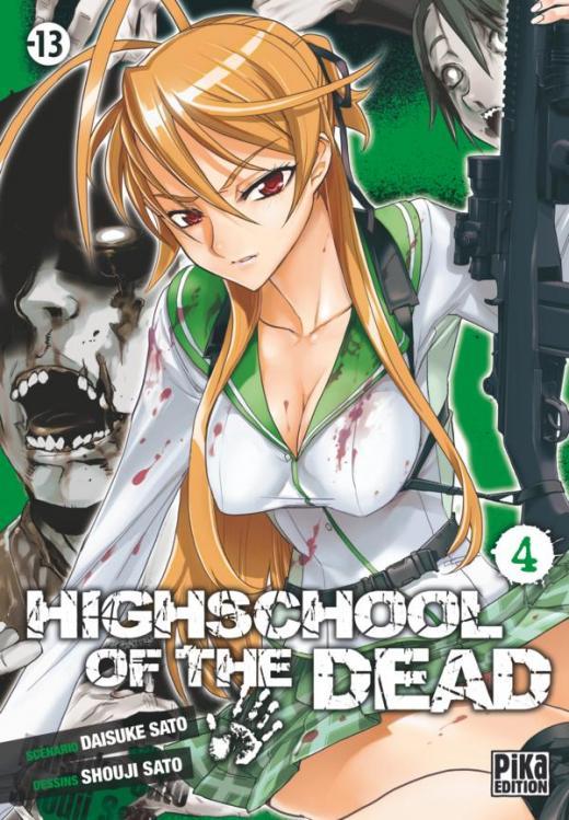 Highschool of the Dead T04