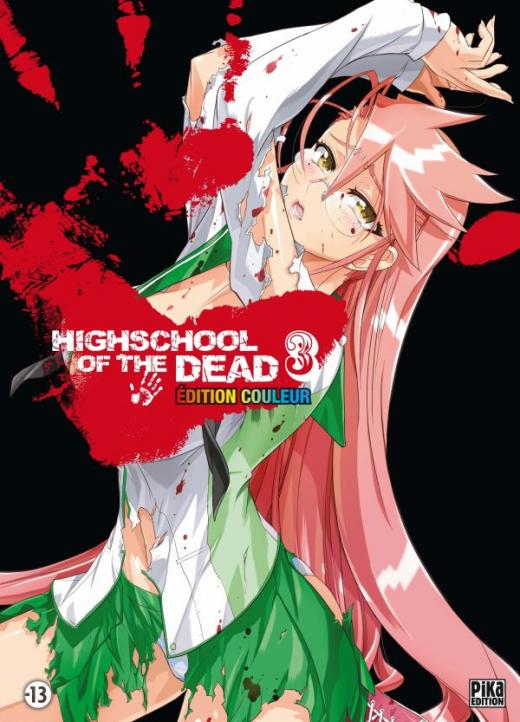 Highschool of the Dead Couleur T03