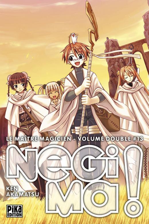 Negima ! Le Maître Magicien Edition double T13