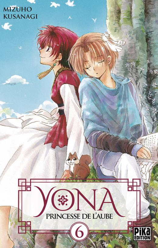 Yona, Princesse de l'Aube T06