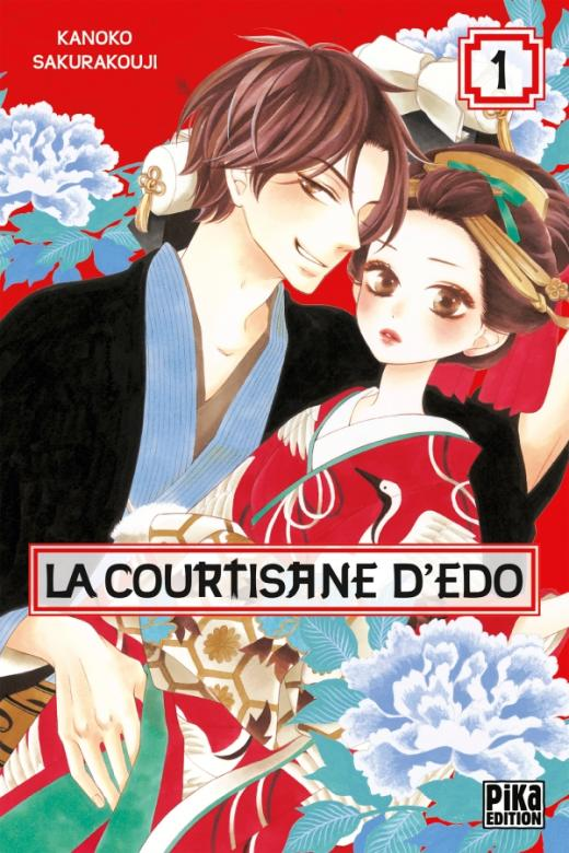 La courtisane d'Edo T01