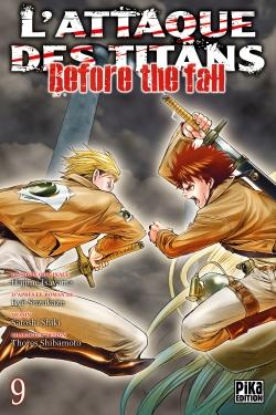 L'Attaque des Titans - Before the Fall T09
