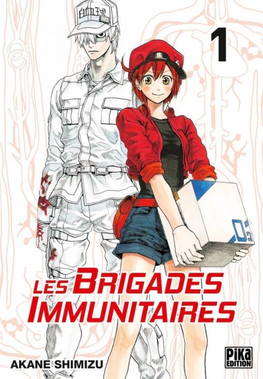 Les brigades Immunitaires T01