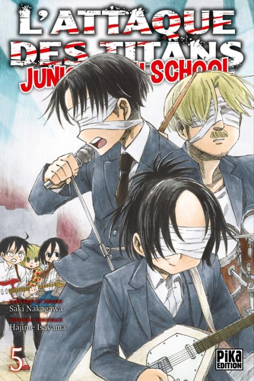 L'Attaque des Titans - Junior High School T05