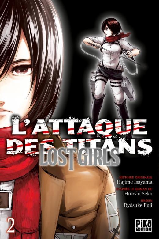L'Attaque des Titans - Lost Girls T02