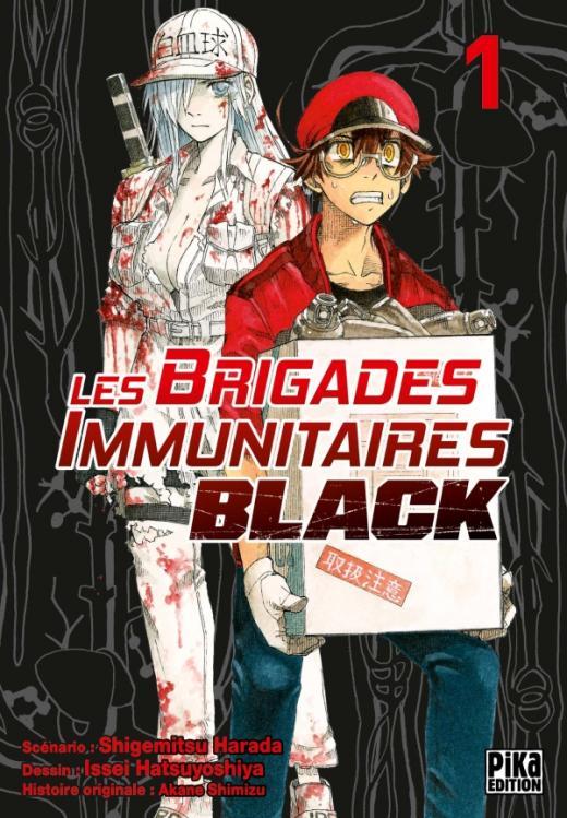 Les Brigades Immunitaires Black T01