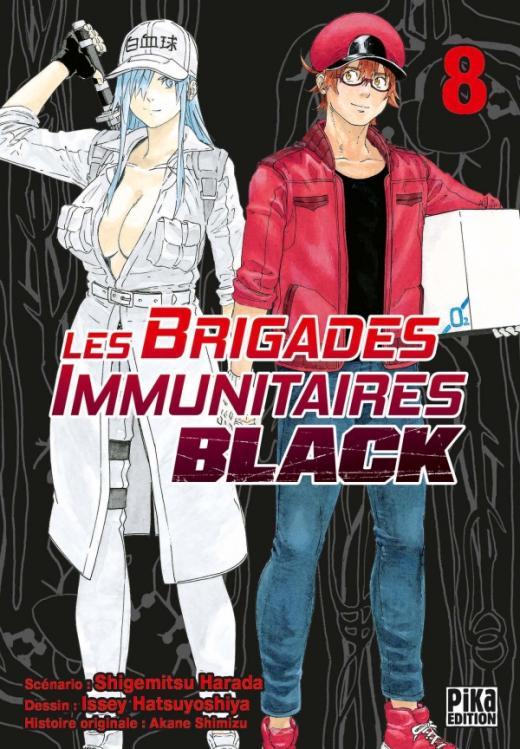 Les Brigades Immunitaires Black T08
