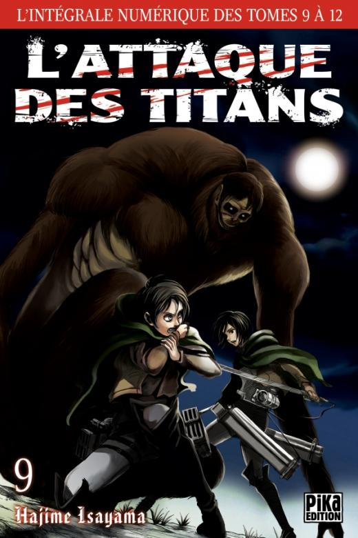 L'Attaque des Titans - L'intégrale T09 à T12