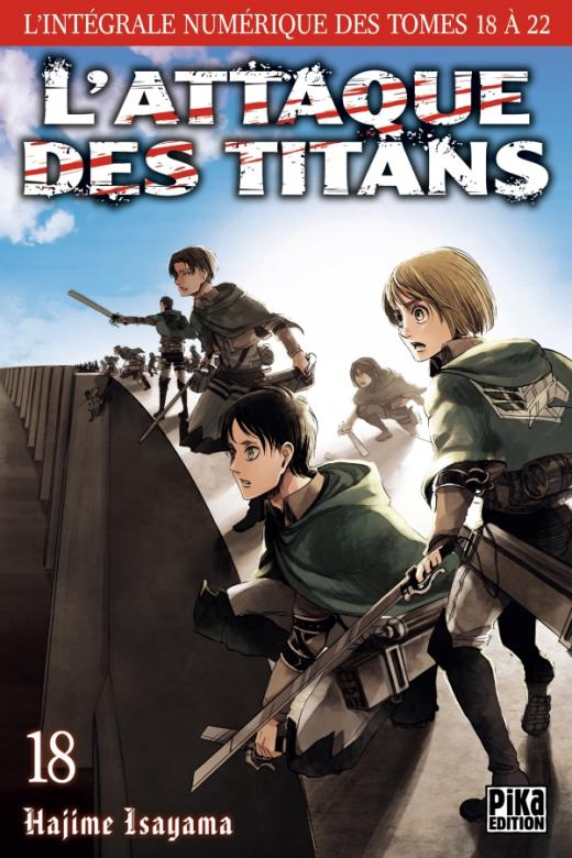 L'Attaque des Titans - L'intégrale T18 à T22
