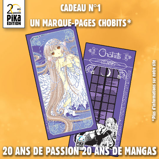 Marque-pages Chobits 20 ans