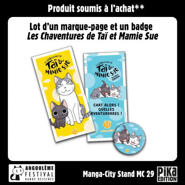 Marque-page Chaventures FIBD 2020